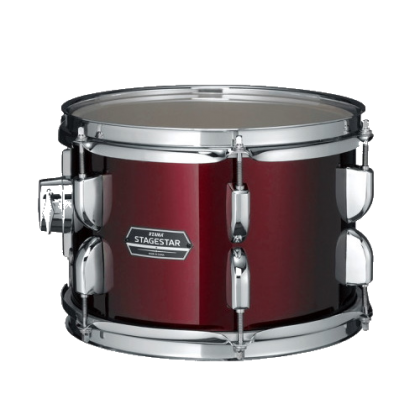 TAMA SG52KH6C Stagestar 5-Piece Drum Kits with Cymbals, Wine Red