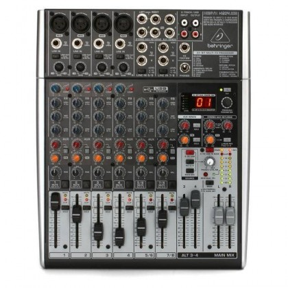 BEHRINGER XENYX X1204USB Mixer with USB and Effects