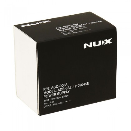 NUX ACD-006A - Power Adapter For Guitar Effect Pedal BOSS Electro-Harmonix TC Electronic Dunlop MXR Zoom (ACD006A)