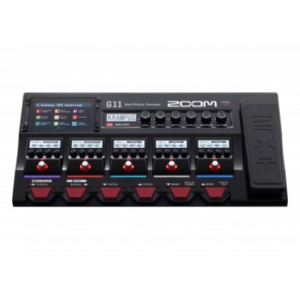 ZOOM G11 - MULTI EFFECTS PROCESSOR GUITAR PEDAL