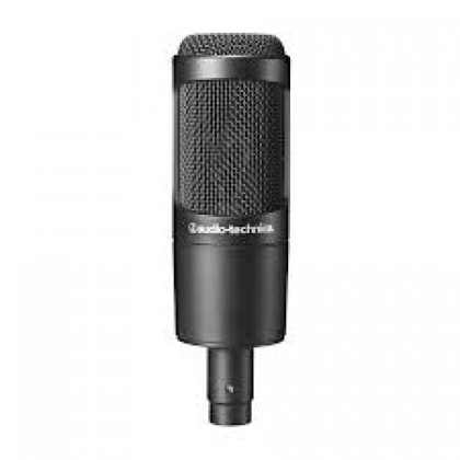 Audio Technica AT2035 Cardioid Condenser Microphone with  Mic Holder  (Audio-Technica AT-2035 / AT 2035)